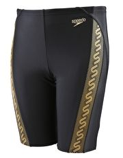 Speedo Boys Endurance 10 Monogram Jammer - Black and Gold The chlorine resistant Speedo Boys Endurance 10 Monogram Jammer will look stunning at any club training or squad swimming with the gold monogram side panel http://www.MightGet.com/january-2017-13/speedo-boys-endurance-10-monogram-jammer--black-and-gold.asp