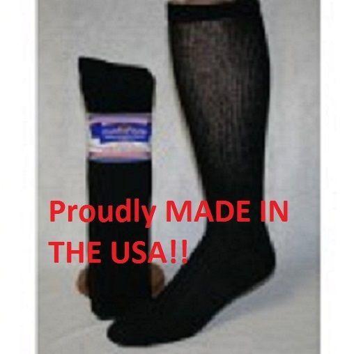 12 Pair PRO-TREK Over The Calf Crew Socks Size 9-11 Boot Socks Men/'s Socks
