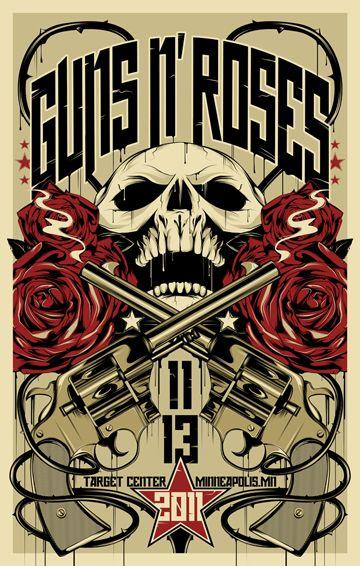 Crash diet guns n roses