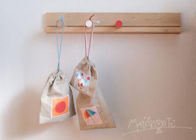 látkové pytlíčky na potraviny / fabric bags for food
