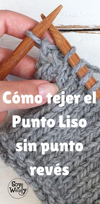 Si no te gusta el punto revés, te enseño cómo tejer el Punto Liso sin él #PuntoLiso #puntojersey #técnicas #tejer #tips #trucos #tejido #dosagujas #tricot #calceta #tejidoapalillos #punto #hacerpunto #soywoolly #tutorial #video #tejidos #tejidoamano #aprenderatejer #cómotejer #tricotar