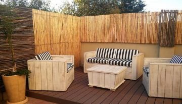Awesome Ideas for Pallets Patio Couches