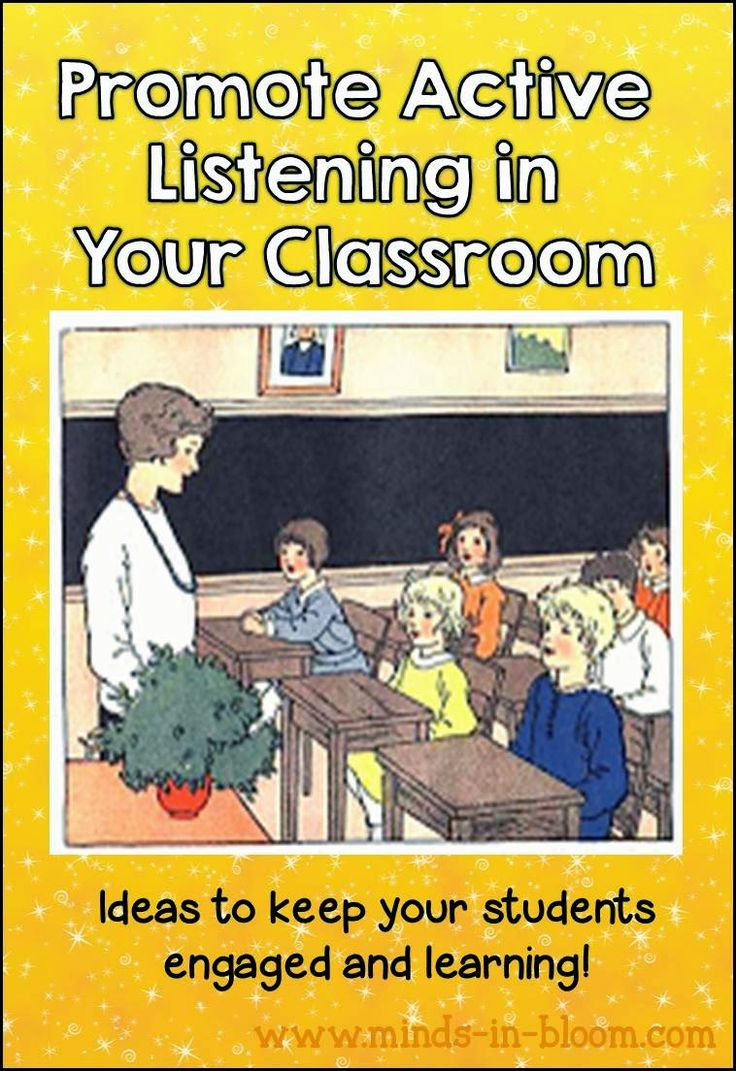 Minds in Bloom: Ways to Promote Active Listening in Your Classroom