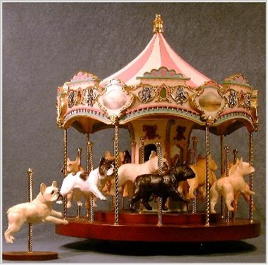 .: French Bulldogs,  Carrousel,  Merry-Go-Round, Frenchi Carousels,  Whirligig, Carrousel Music,  Roundabout, Carousels Music, Bulldogs France
