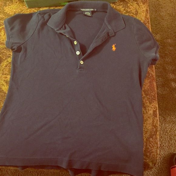 Ralph Lauren Slim Fit Worn 1x! Slim fit ASK ALL QUESTIONS BEFORE PURCHASING Ralph Lauren Tops