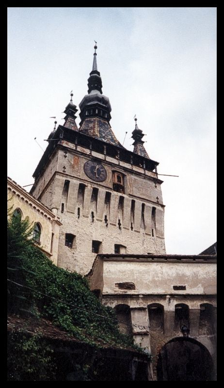 Sighisoara Tower - Sighisoara, Mures, Romania