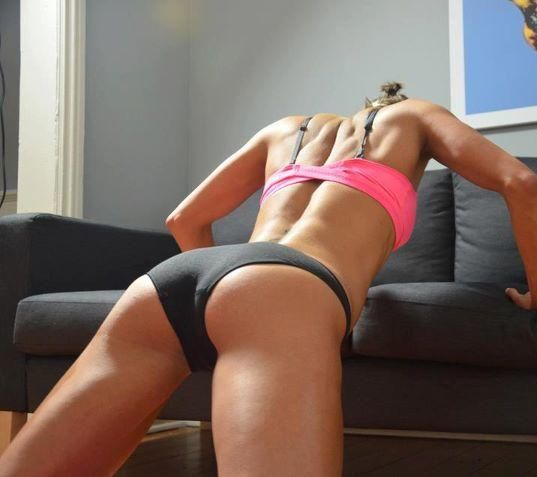 Image result for sexy girl doing push up