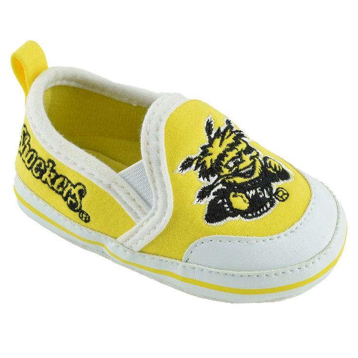 Baby Wichita State Shockers Crib Shoes, Infant Unisex