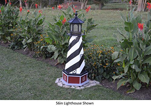 Amish-Made-Cape-Hatteras-NC-Replica-Lighthouse-with-Base