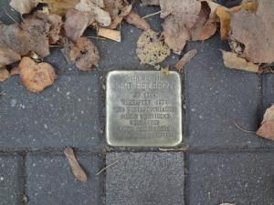 """Stolperstein - """"Stumbling Stones"""" are Europe's most understated  Holocaust Memorial"""