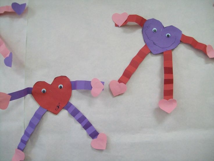 Easy+Valentine+Crafts | Little Fun; Little Learning: Heart People Craft