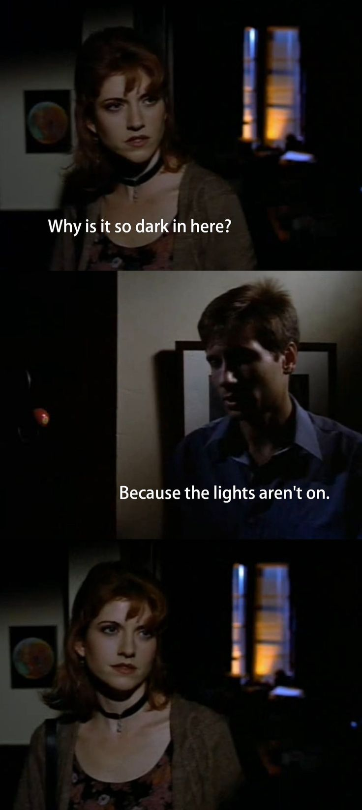 Fox Mulder had all the anwers…