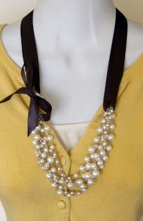Use Ribbon to Stretch Your Jewelry $~ Tutorial