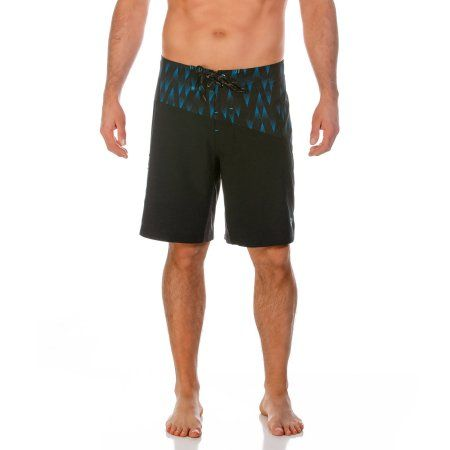 Op Men's Athletic Performance Printed Swim Trunk, Size: 30, Multicolor