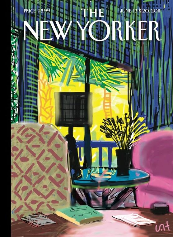 David Hockney: 'The New Yorker' June 13 & 20, 2011                                                                                                                                                      More