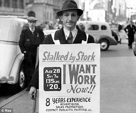 It worked! Unemployed engineer who resorted to sandwich board ...