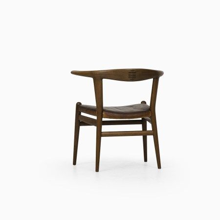 Hans Wegner Bull Horn Chair By Johannes Hansen At Studio Schalling