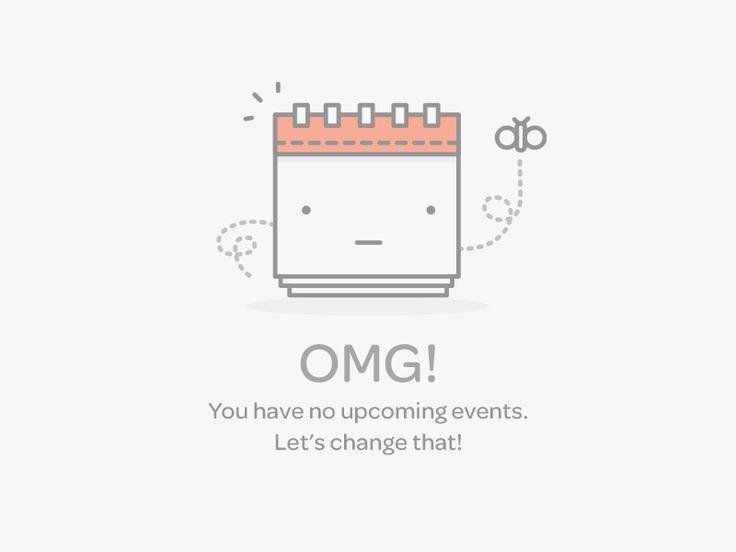 Events Empty Data Set
