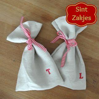 Sinterklaas Zakjes - met een kleine DIY