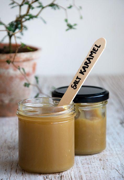 Lækker hjemmelavet salt karamel sauce