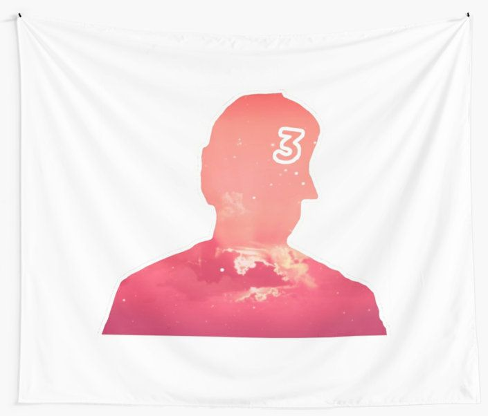 Chance The Rapper Coloring Book Art Wall Tapestry By