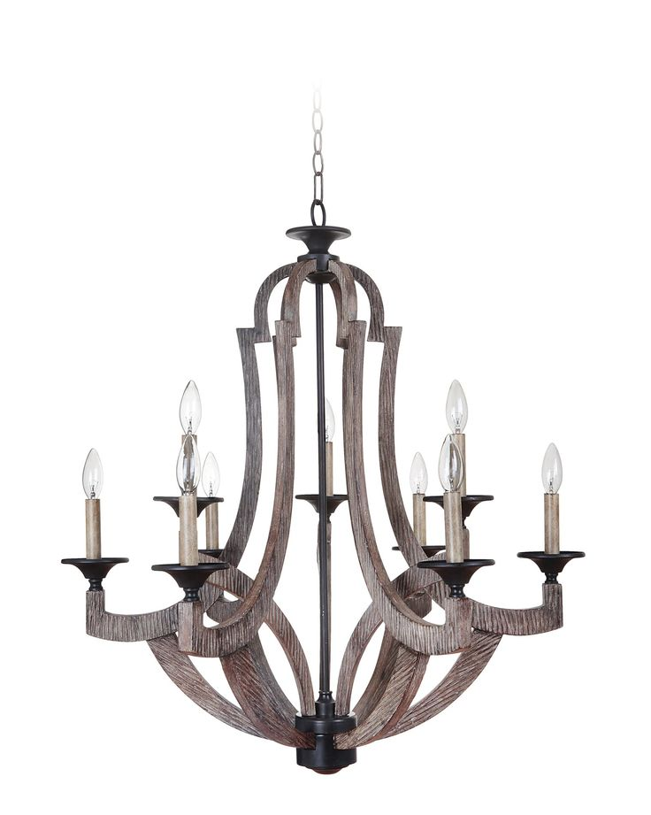 South Shore Decorating: Jeremiah 35129-WP Winton Transitional Chandelier CM-35129-WP