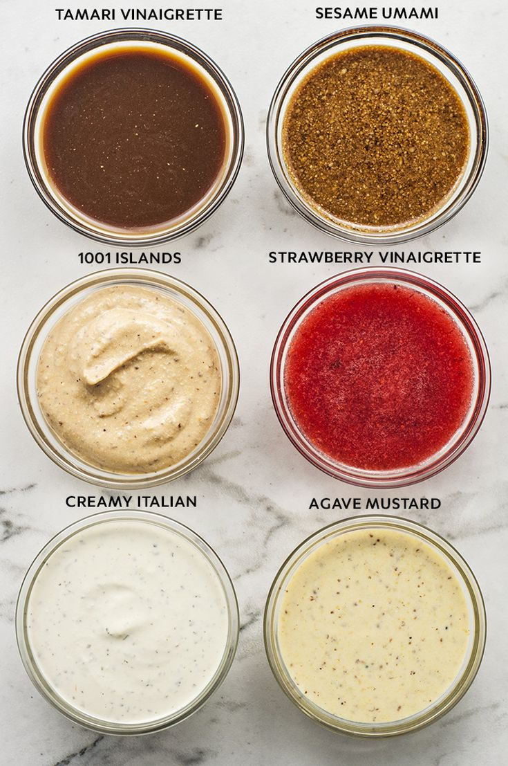 types of salad dressings Salad dressings find the perfect flavor for your next salad, sandwich or  marinade with marzetti® salad dressings creamy light-and-fat-free light & fat.