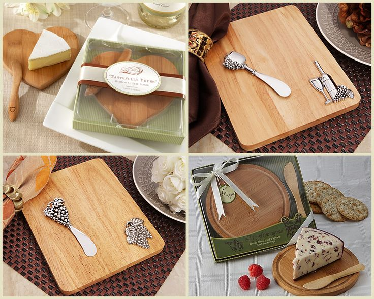 Cheese Board Party Favors from HotRef.com