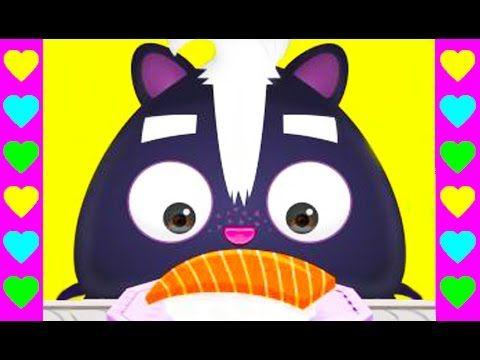 Мультик про СУШИ! Готовим настоящие суши для животных. Развивающие детск...