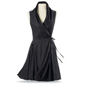 Black Wrap Dress - Women's Clothing & Symbolic Jewelry – Sexy, Fantasy, Romantic Fashions