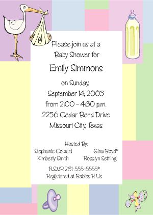 Cutiebabes.com Baby Shower Invitation Wording Ideas (28) #babyshower · Baby  Shower Card MessageBaby ...