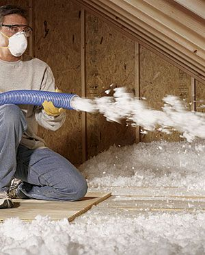 Blown Insulation for Attics: Fiberglass vs. Cellulose