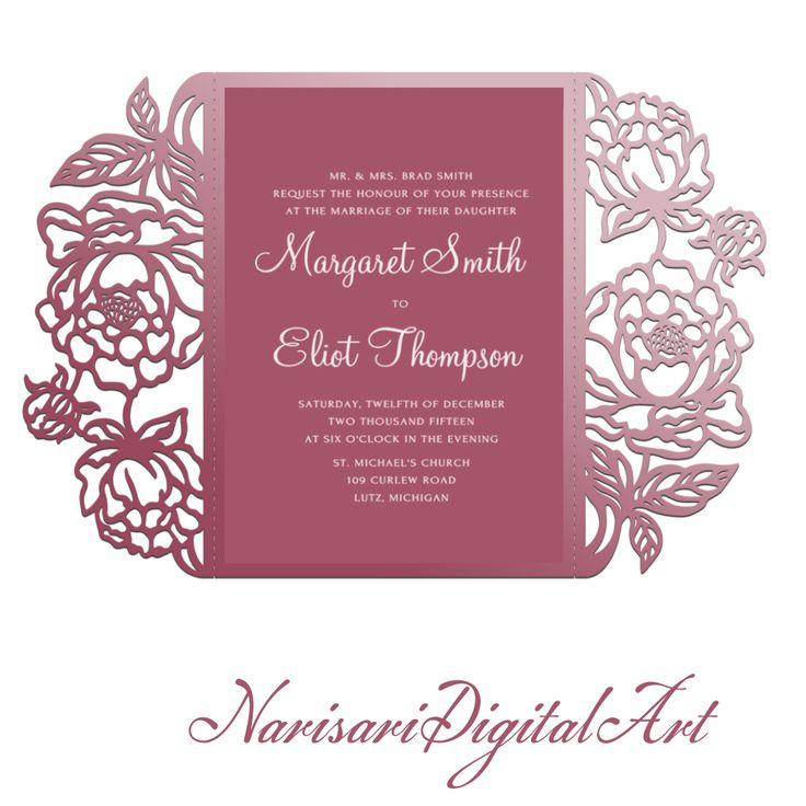 Best 25+ Cricut invitations ideas on Pinterest Cricut wedding - fancy invitation templates