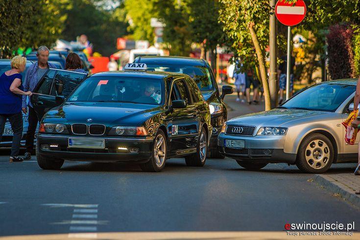 #kolizja #świnoujście #swinoujscie #wypadek #taxi