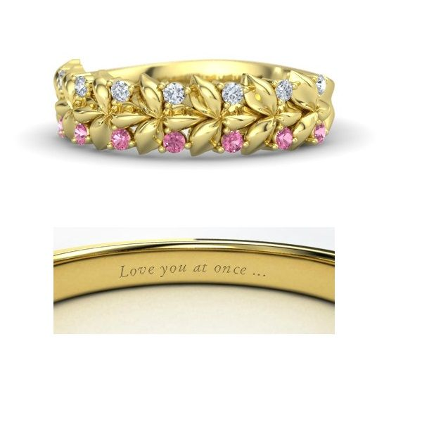 Disney princess rings: Aurora from Sleeping Beauty. (Designed by me)