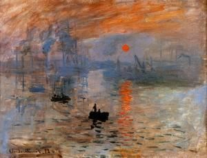 Impression, Sunrise 2  Claude Oscar Monet
