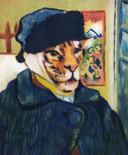 Tigers in Art: Elli Maanpää, Van Tigogh 2010