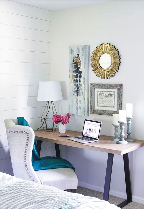 Best 25+ Bedroom office combo ideas on Pinterest | Small ...