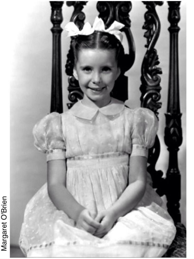 Margaret O'Brien (1937-) born Angela Maxine O'Brien in California. Great child actress
