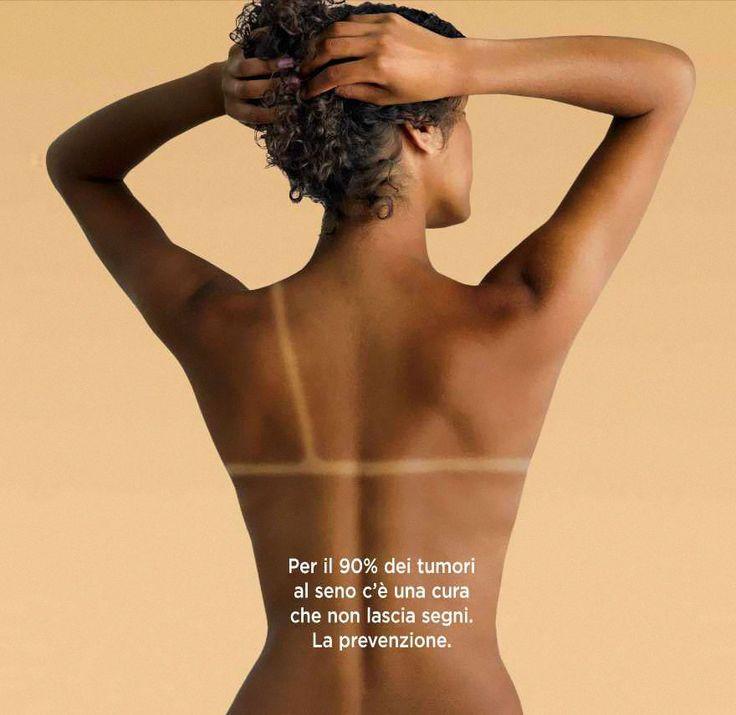 """""""Para 90% dos casos de câncer de mama, existe uma cura que não deixa sinais"""" - Agência: LS&Partners, Roma, Itália"""