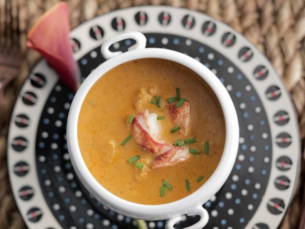 Get Lobster Bisque Recipe from Food Network