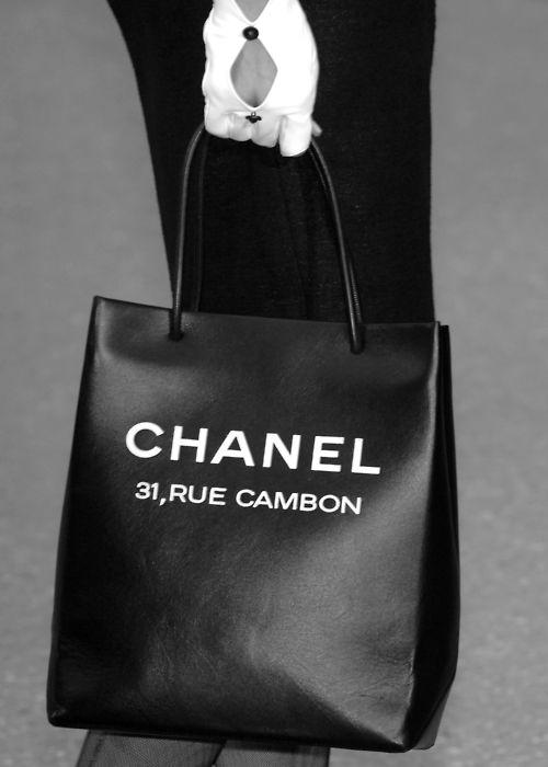 #Chanel 31 Rue Cambon bag