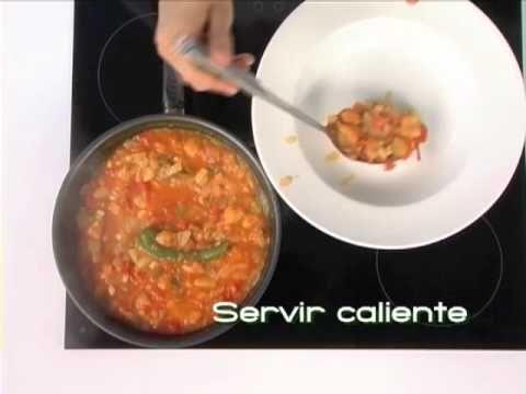▶ Receta de sopa de tomate con pan (Cocina andaluza saludable) - YouTube