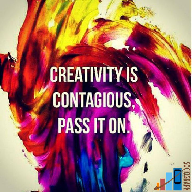 Quote on Creativity  #Sociograph #Quotes #Creativity