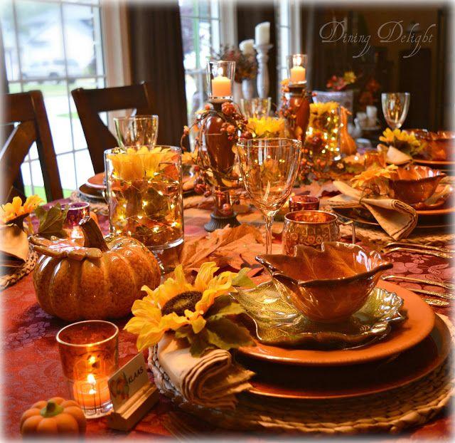 Thanksgiving Table Settings Pinterest