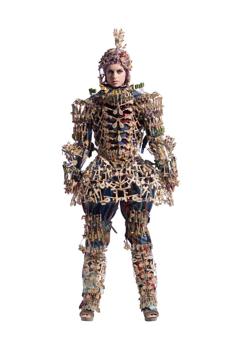 Battle Suite, Christeena MacDonald-Paea, New Zealand #art #wearable
