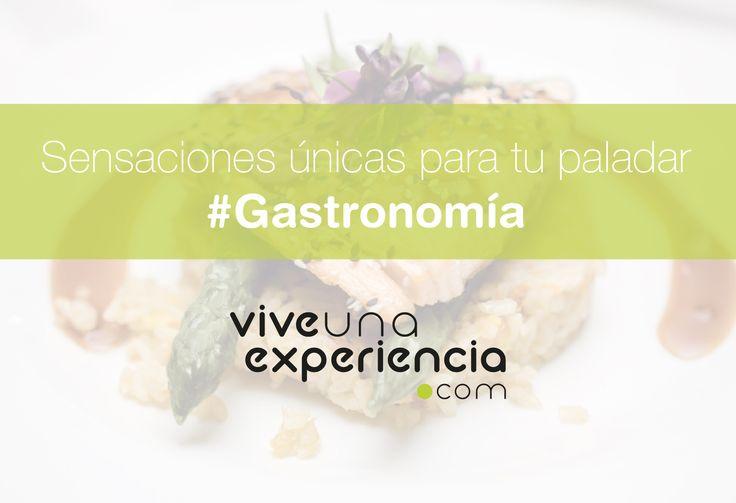 ¡Atención #foodies, preparar vuestros selectos paladares! #gastro #viveunaexperiencia