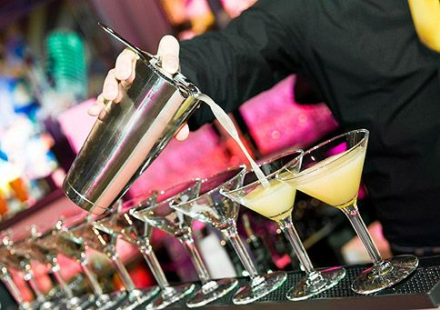 IMAGE 7. Cocktails will be prepared at the bars for event guests at the completion of the showcase (Marquee Hire Guide 2015)