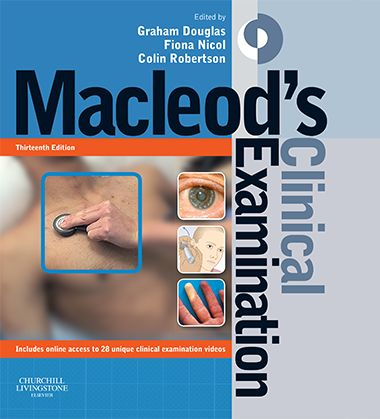 MacLeods clinical examination 13th edition (Latest edition)  Free download #MacLeods #clinical #examination #PDF