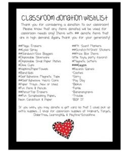 Classroom Donation Wishlist#Repin By:Pinterest++ for iPad#